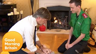 Richard Madeley Learns CPR | Good Morning Britain