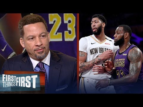 Chris Broussard on LeBron's plan to recruit another superstar to Lakers | NBA | FIRST THINGS FIRST
