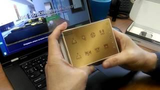 Zennio Touch-MyDesign Plus * ZVI-TMDP8 (Сенсорный KNX выключатель, 8-кнопочный)(Zennio Touch-MyDesign Plus * ZVI-TMDP8 (Сенсорный KNX выключатель, 8-кнопочный, графика произвольная, рамка золото) Видео об..., 2016-06-19T09:28:31.000Z)