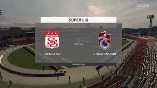 FIFA 21 Sivasspor vs Trabzonspor Turkey Super Lig 03 04 2021 1080p 60FPS