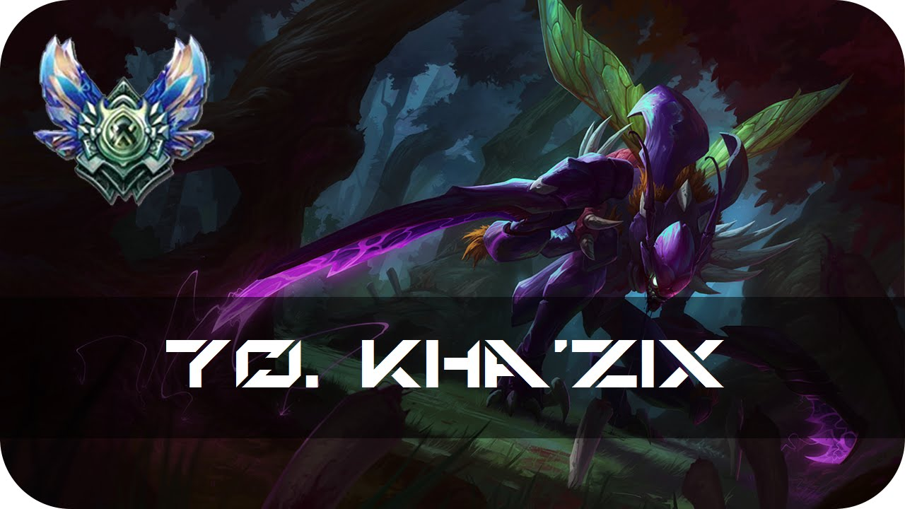 Kha zix jungle preseason 6 patch