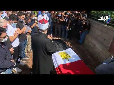 جنازة الفنان محمود ياسين