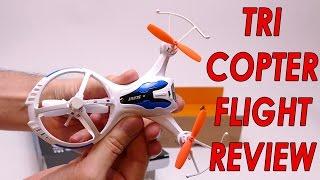 M71 Quadcopter Triangular Design Flight Review