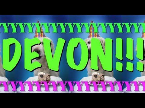 HAPPY BIRTHDAY DEVON! - EPIC Happy Birthday Song