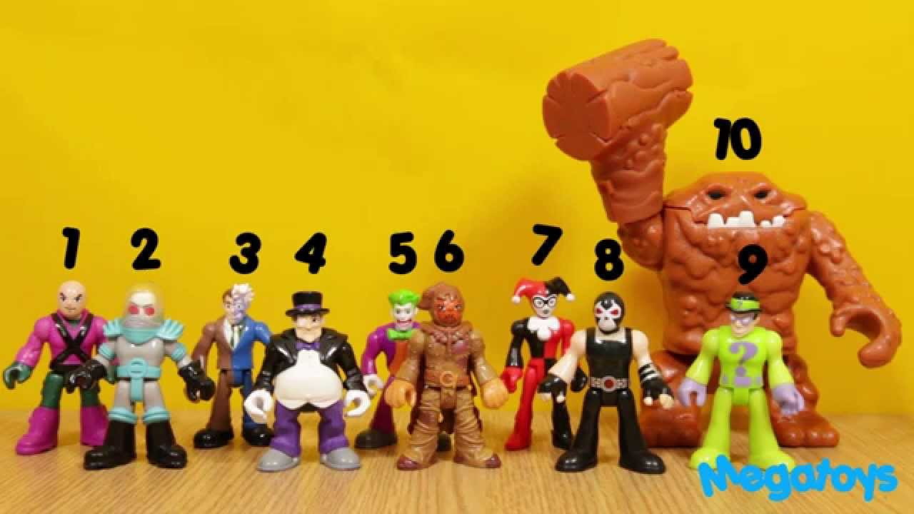 count to 10 with batman amp robin imaginext batman riddler