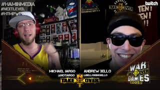 TakeOver War Games II Review w/ Andrew Bello & Jargo