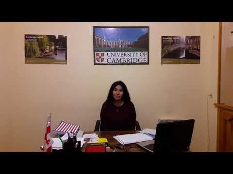 New Spanish teacher in Cambrige Education House! Tbilisi Georgia. Meet Vanesa Rivera