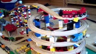 BRIO Eisenbahn und LEGO Toy Train Wooden Railway System and LEGO (HD) Kinderkanal