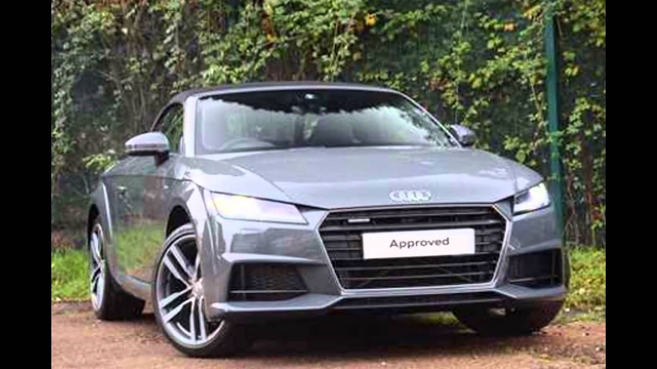 2016 Audi Tt Roadster Nano Gray Youtube