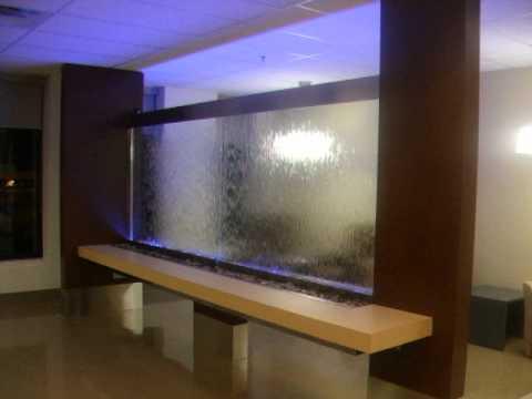 waterwall design montreal aquastyledesign mur d 39 eau sur mesure youtube. Black Bedroom Furniture Sets. Home Design Ideas