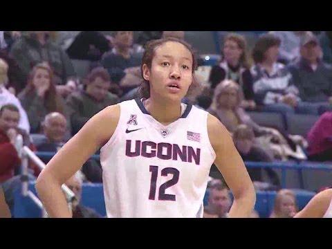Saniya Chong Filling In Nicely For UConn Women