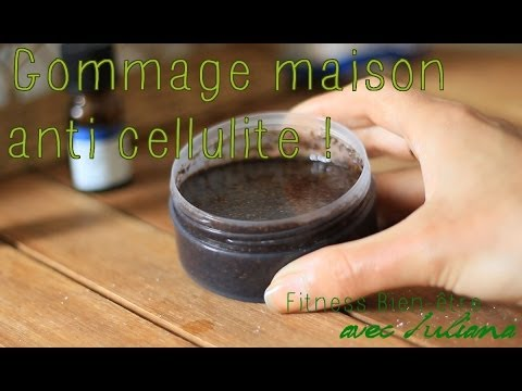 Mon gommage maison anti cellulite youtube for Anti pucerons maison