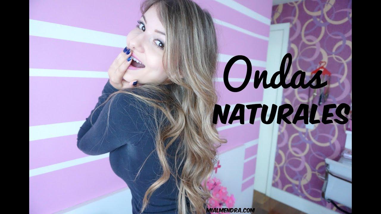 Como hacer ondas naturales muy f ciles youtube - Como hacer ambientadores naturales ...