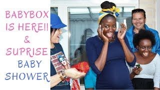 FINNISH BABY BOX | BABY SHOWER | FiinaPete and the brus