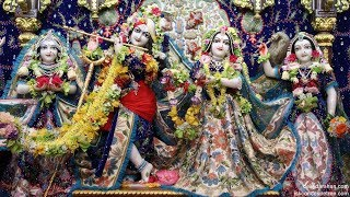 Sri Sri Radha Gopinath Temple Sringar Arati Darshan 23rd May 2018 Live from ISKCON Chowpatty,Mumbai