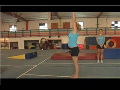 Gymnastics Moves : How to Do a Running Front Flip