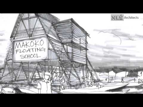 NLÉ - Kunlé Adeyemi - Makoko School