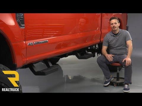 Carr C22101241 HOOP II XP3 Black 10 Truck Step