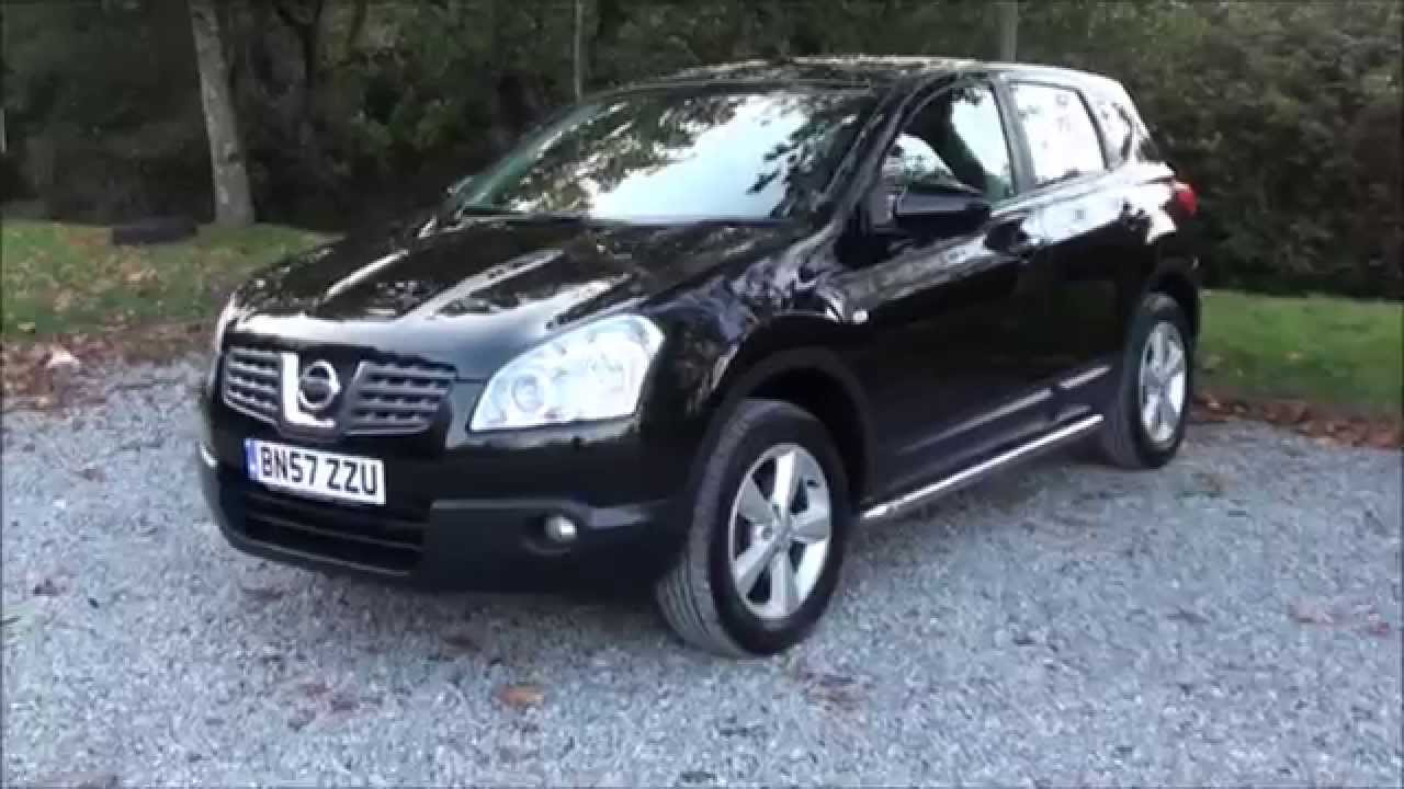 2007 nissan qashqai 1 5 dci tekna youtube. Black Bedroom Furniture Sets. Home Design Ideas