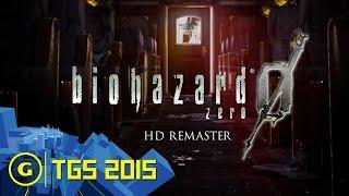 Resident Evil 0: HD Remaster Trailer - TGS 2015