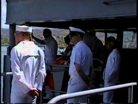 USS Rainier (AOE-7) '99 Tiger Cruise Part 1