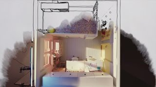 IKEA Square Metre Challenge Part 4: Shared (and personal) kids' room thumbnail