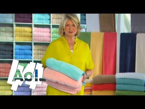 How To Choose the Right Towels | Martha Stewart
