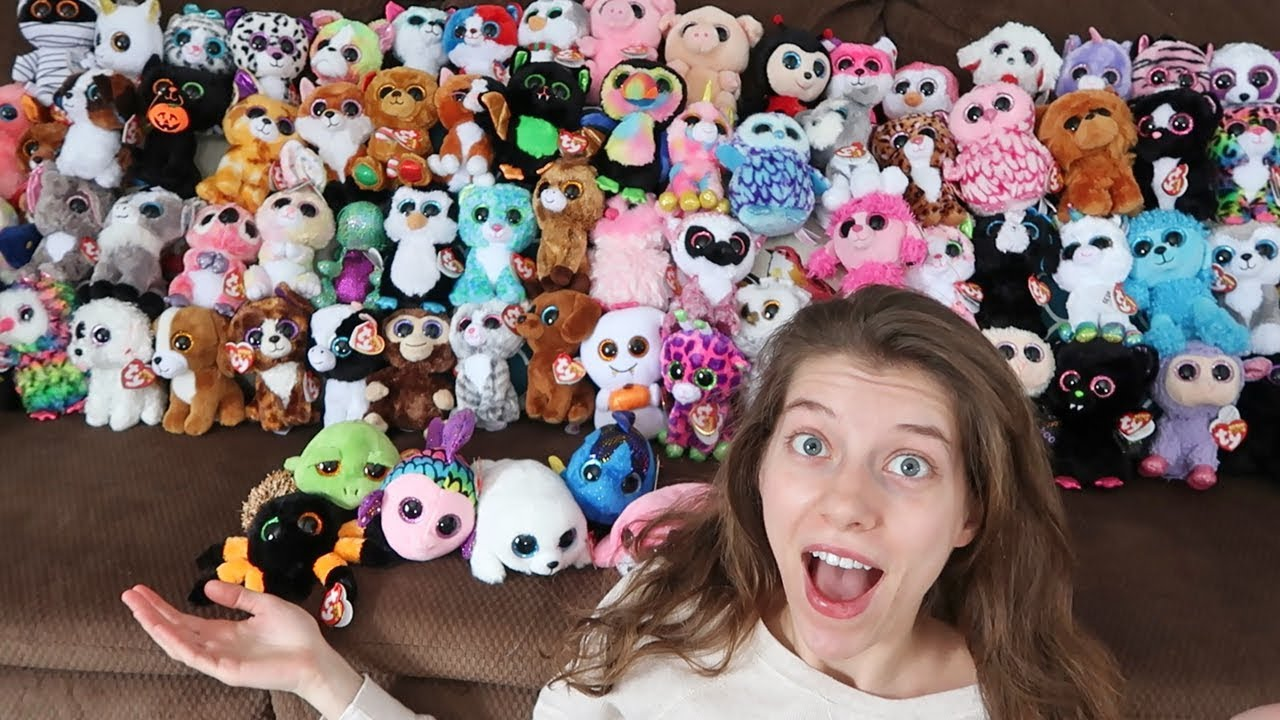 TY Beanie Boos Collection 2017 - YouTube 1b0492e508d