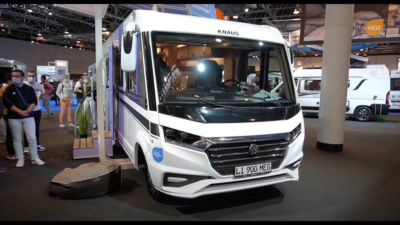 Wohnmobil Knaus Live I 9 MEG 9 Caravan Salon 9 Wohnmobil  vollintegriert. XXL Doku.