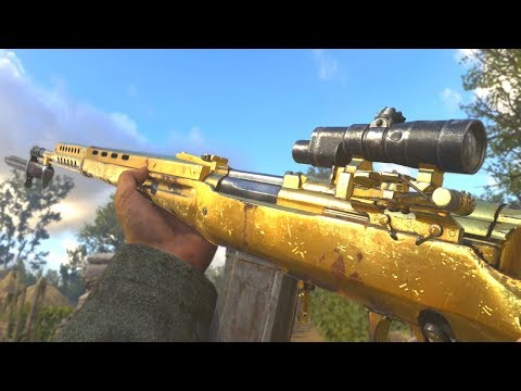 COD WWII: Road To Gold (SVT-40)
