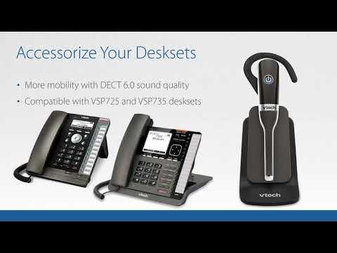 ErisTerminal® SIP Deskset - VTech Business Phones