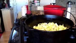 Potato Leek Soup & Sour Dough Results By Linda's Pantry