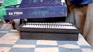 видео Воздушный фильтр на Hyundai H-1 Starex 1, Starex 2 - 2.4, 2.5 л. – Магазин DOK | Цена, продажа, купить  |  Киев, Харьков, Запорожье, Одесса, Днепр, Львов