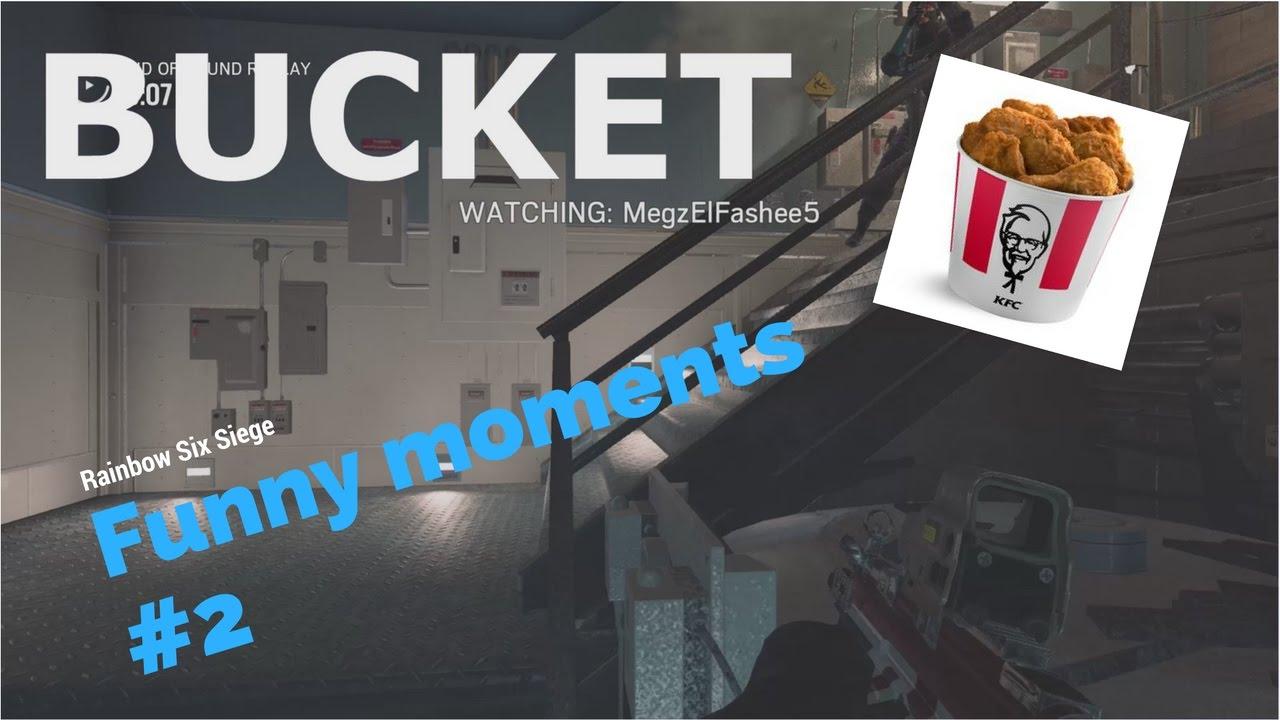 Kfc Bucket Funny: Rainbow Six Siege Funny Moments #2