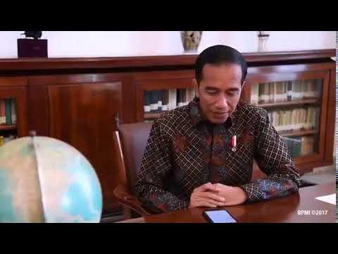 Jokowi : Emang enak gak ada radio. Saya Joko Widodo, pendengar radio. #radioguemati