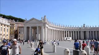 Le musée du Vatican , la place Saint Pierre à Rome , Italie