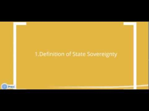HSC Legal Studies 2012 | State Sovereignty and it's impact on the Protection of Human Rights