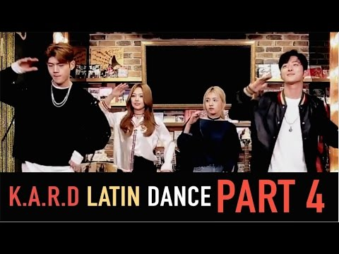 K.A.R.D - Latin Dance Challenge Part 4 - [ESP][PORT][ENG]