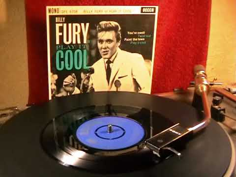 Billy Fury - Play It Cool - 1962 45rpm