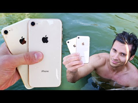Download Youtube: iPhone 8 vs 7 Water Test! Secretly Waterproof?