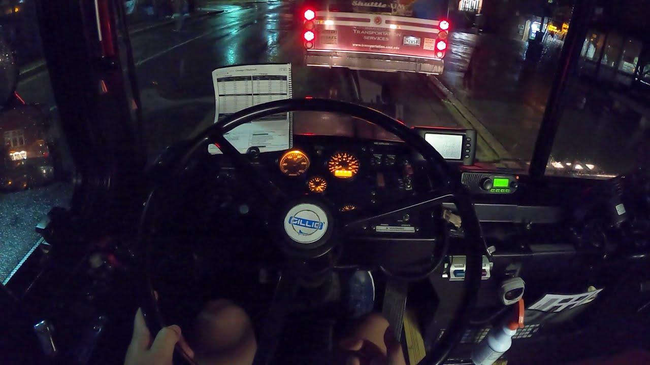 Download POV Bus Night Drive: 2010 Gillig Advantage Diesel-Electric Hybrid