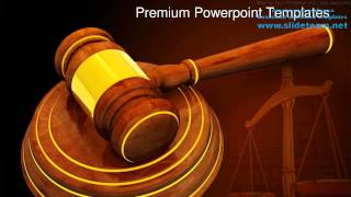 Wooden Gavel Law Powerpoint Templates Themes And Backgrounds Graphic Designs
