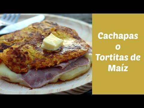 Cachapas o Tortitas de Maíz