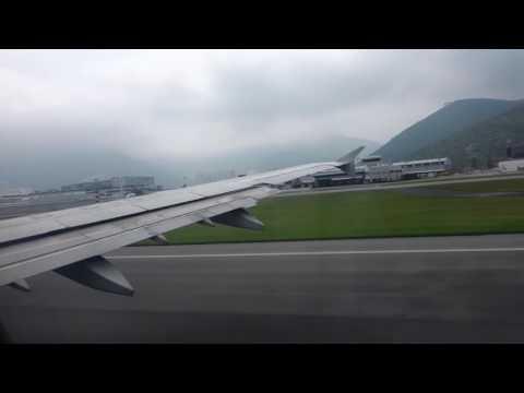 Air China Airbus A321 Takeoff in Hong Kong to Beijing [CA108]