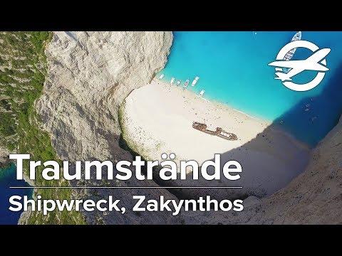 Shipwreck Beach ☀️ Die schönsten Strände auf Zakynthos ☀️