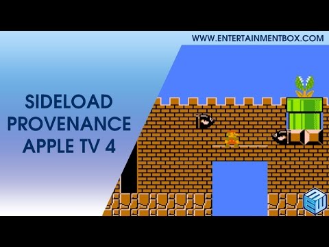 NEW How to install Provenance Apple TV 4, sideload provenance apple TV 4th gen. Play retro games