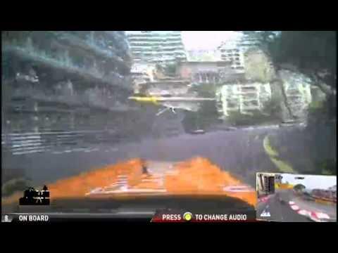 Paul Di Resta- Helmet-Cam in Monaco