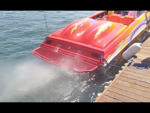 2600hp Outerlimits LOUD Startup Rev 575ci Mercury Blower Motors Offshore Footage Sound