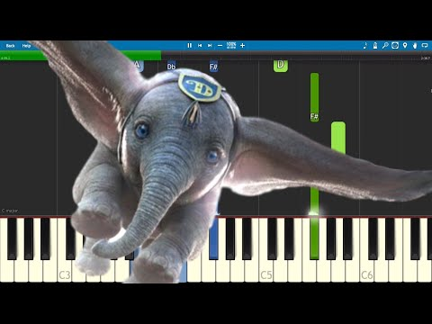 Arcade Fire - Baby Mine - Piano Tutorial - Dumbo 2019 Soundtrack Mp3