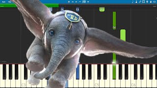 Arcade Fire - Baby Mine - Piano Tutorial - Dumbo 2019 Soundtrack